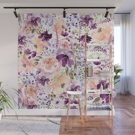 Floral Chaos Wall Mural