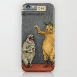 Audition iPhone Case