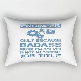 Badass Engineer Rectangular Pillow