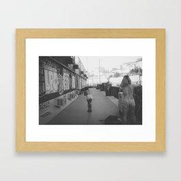 Les marseillaises Framed Art Print