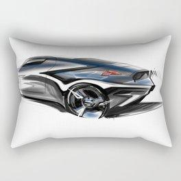 B M W Butt Rectangular Pillow