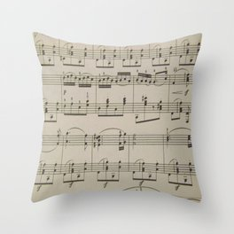 Hungarian Dance No. 5 Throw Pillow