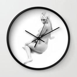 nude 345 Wall Clock