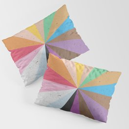 Rainbow Wheel of Inclusivity Pillow Sham