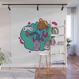 Cloud 9 Wall Mural