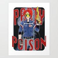 party poison Art Print