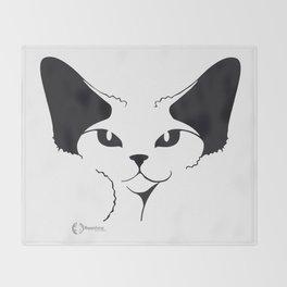 Devon Rex Throw Blanket