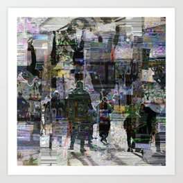 exempting only acquisition imagined as inheritance Art Print