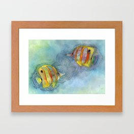 Plenty More Fish in the Sea Framed Art Print