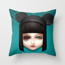 Misfit - Abigail Throw Pillow