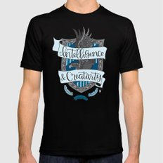 House Pride - Intelligence & Creativity Mens Fitted Tee Black 2X-LARGE