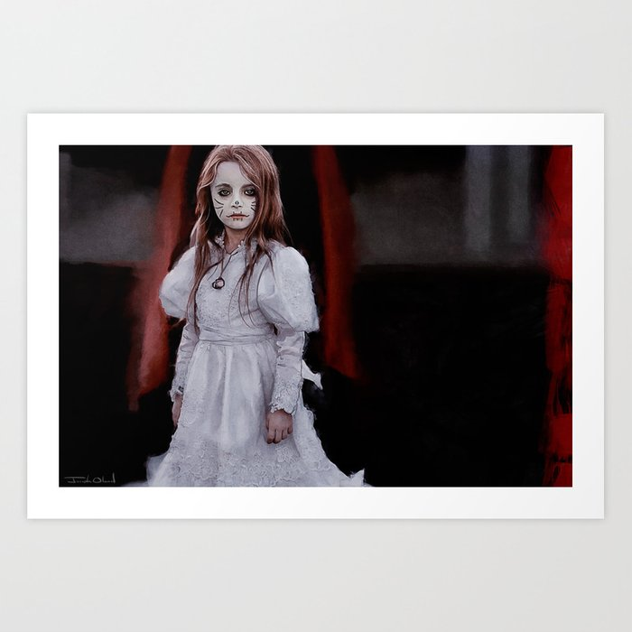 Dia de los Muertos - Little Angel Art Print