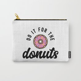 Do It For The Donuts v2 Carry-All Pouch