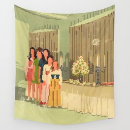 Candles Wall Tapestry