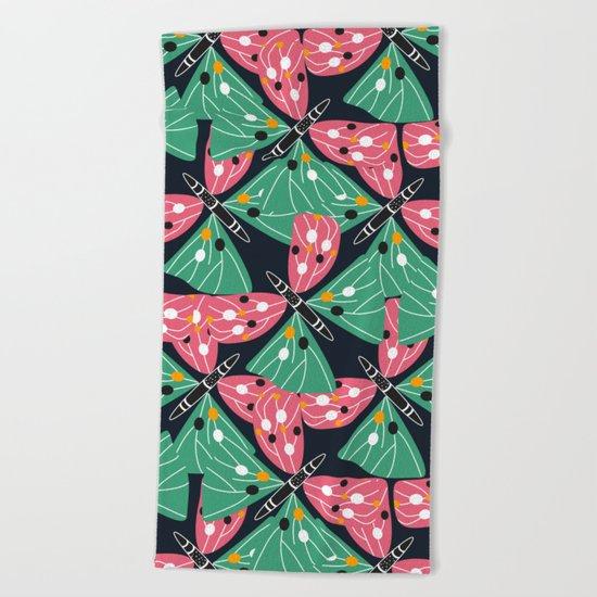Butterfly pattern Beach Towel