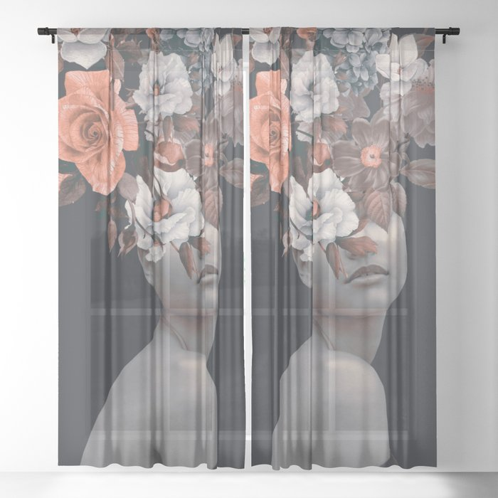 Bloom 11 Sheer Curtain