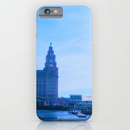 Liver Building from Princes Dock iPhone Case