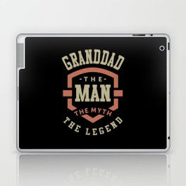 Granddad The Myth The Legend Laptop & iPad Skin