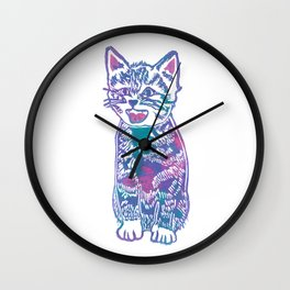 What's New Pussycat? Wall Clock