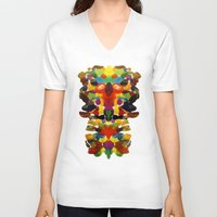 totem V-neck T-shirts featuring totem! by gasponce