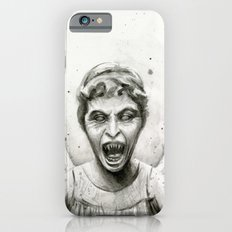 Weeping Angel Watercolor Doctor Who Art iPhone 6 Slim Case