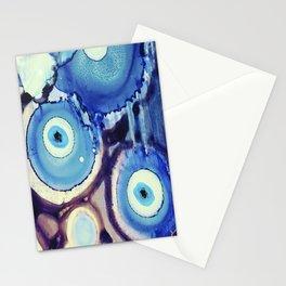 Evil Eye Tears Stationery Cards