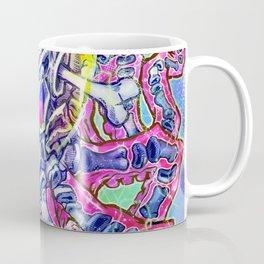 Skeleton Octopus Alien Coffee Mug
