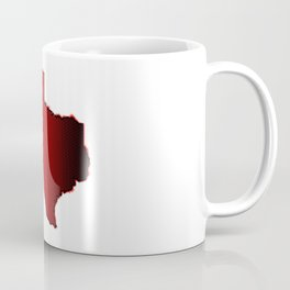 Texas Halftone Coffee Mug