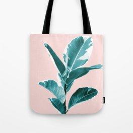 Ficus Elastica Finesse #2 #tropical #foliage #decor #art #society6 Tote Bag