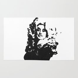 DOLLY PARTON BY ROBERT DALLAS Rug