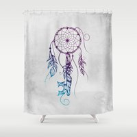 key Shower Curtains featuring Key To Dreams Colors  by LouJah