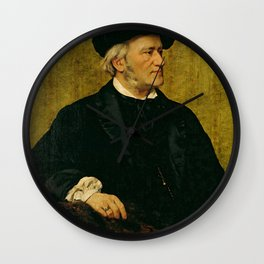 Richard Wagner (1813 – 1883) by Giuseppe Tivoli (b.1845) Wall Clock