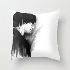DARK COMEDIANS: Jim Carrey Throw Pillow