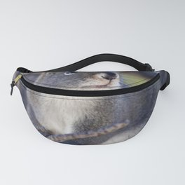 Watercolor Pine Squirrel 2 Fanny Pack