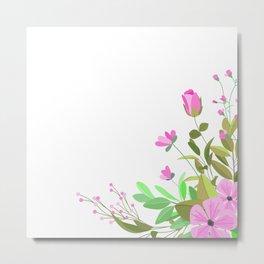 flower12 Metal Print