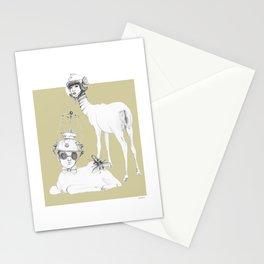 Weird & Wonderful: Space Deer Stationery Cards