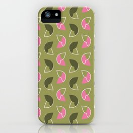 Abstract / Organic Surface Pattern  iPhone Case