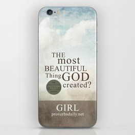 Most Beautiful Thing? iPhone Skin