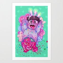 Gore Totty Art Print