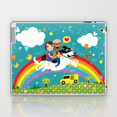 Rick and Ellen Fly to the Taco Bus Laptop & iPad Skin