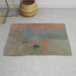 Impression, Sunrise Rug
