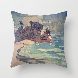 Storms Rise in Dahan Throw Pillow