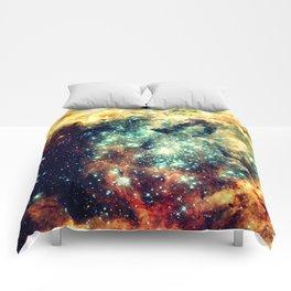 galaxy nebula stars Comforters