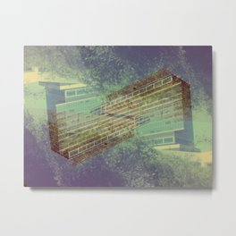 Wednesday 7 August 2013: However, antsy mimicry might exacerbate remission. Metal Print