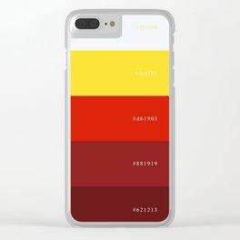 Color Palette #12: McDonald's Clear iPhone Case