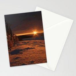 Sunrise Sets Stationery Cards