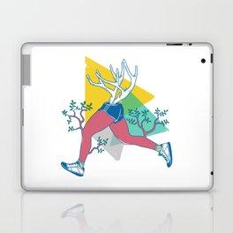 Run like a deer Laptop & iPad Skin