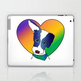 Rainbow Puppy Love Laptop & iPad Skin