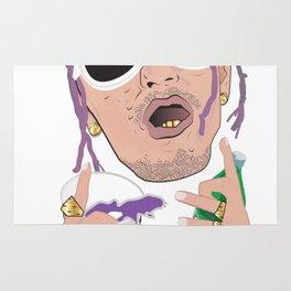 Lean Rapper Rug