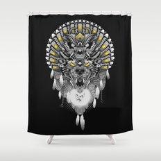 Old Companion Shower Curtain